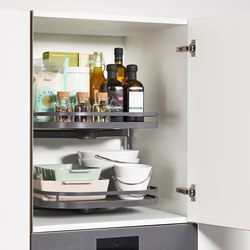 Turnmotion II Larder Units | Kitchen organization | peka-system