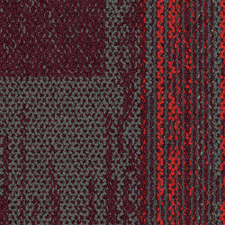 Aerial Collection AE315 Iron/Berry | Carpet tiles | Interface USA