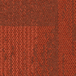 Aerial Collection AE317 Persimmon | Carpet tiles | Interface USA