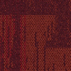 Aerial Collection AE317 Berry | Carpet tiles | Interface USA