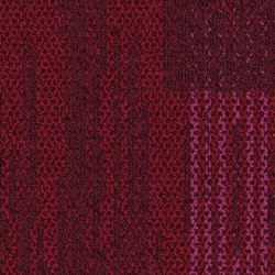 Aerial Collection AE317 Magenta | Carpet tiles | Interface USA