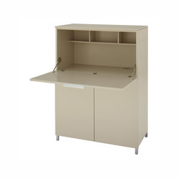 Everywhere | Secretaire C 40 Lacquers - Price A - / Lacquers | Desks | Ligne Roset