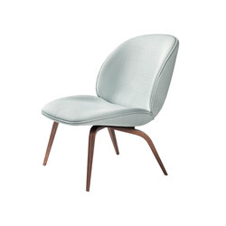 Beetle Lounge Chair - Wood Base | Poltrone | GUBI
