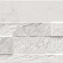 Gioia 3D Bianco | Baldosas de cerámica | Rondine
