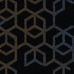 Let It Bee - Bee's Knees Evening Dusk | Carpet tiles | Interface USA