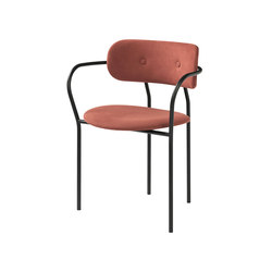 Coco Dining Chair With Armrest | Chairs | GUBI