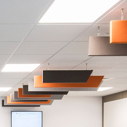 Class Bespoke Penstripe | Sound absorbing suspended panels | Soundtect