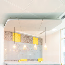 Class Bespoke Above | Sound absorbing suspended panels | Soundtect
