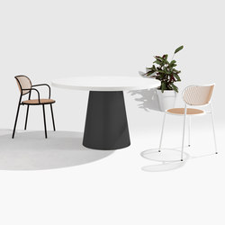 Dial Table - Cone Base | Esstische | DesignByThem