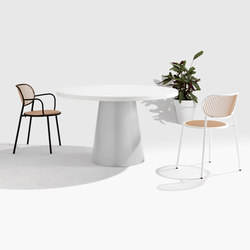 Dial Table - Cone Base | Tavoli pranzo | DesignByThem