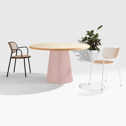 Dial Table - Cone Base | Mesas comedor | DesignByThem