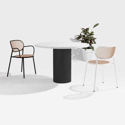 Dial Table - Cylinder Base | Mesas comedor | DesignByThem