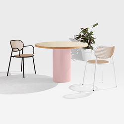 Dial Table - Cylinder Base | Mesas comedor | DesignByThem