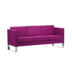 Manhattan | 3-seater | Sofas | SMV Sitz- & Objektmöbel