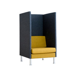 Manhattan | HighBack 1,5-seater | Armchairs | SMV Sitz- & Objektmöbel