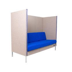 Manhattan | HighBack 3-seater | Canapés | SMV Sitz- & Objektmöbel