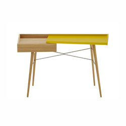 Litho | Desk Natural Oak / Lacquer Colours To Choice | Desks | Ligne Roset
