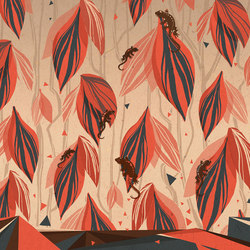 La tribù del geco | Wall coverings / wallpapers | WallPepper