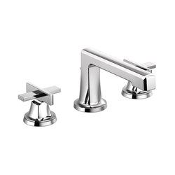 Widespread Lavatory Faucet with Low Spout and Low Cross Handles | Wash basin taps | Brizo