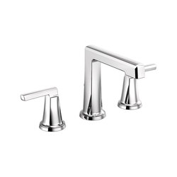Widespread Lavatory Faucet with High Spout and High Lever Handles | Wash basin taps | Brizo