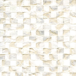 Costa verde | Nacre vichy RM 675 01 | Wall coverings / wallpapers | Elitis