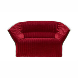 Moel 2 | Small Settee - New Quilting Low Back Exterior Of Back In Felt | Sofas | Ligne Roset