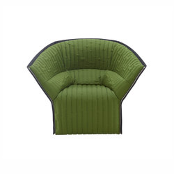 Moel 2 | Armchair - New Quilting Low Back Exterior Of Back In Felt | Armchairs | Ligne Roset