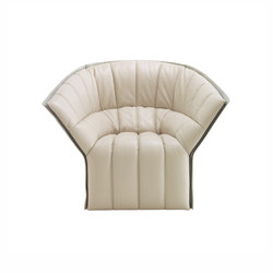 Moel 2 | Armchair - Original Quilting Low Back Exterior Of Back In Felt | Armchairs | Ligne Roset