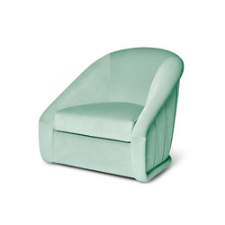 Queen | B Swivel Armchair | Sessel | MUNNA