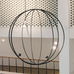 FREESTYLER | sphere 2200 | Suspended lights | Buschfeld Design