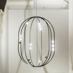 FREESTYLER | sphere 3200 | Suspended lights | Buschfeld Design