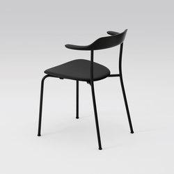 Hiroshima Arm chair stackable (Cushioned) | Sedie | MARUNI