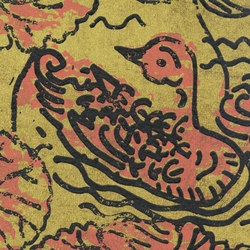 Domino | Flirt aquatique RM 255 07 | Wall coverings / wallpapers | Elitis