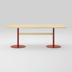 T&O Table 240  (Rectangular/veneer top・solid wood top) | Tavoli pranzo | MARUNI