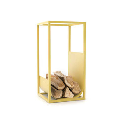 Cube Brennholzregal | Fireplace accessories | conmoto