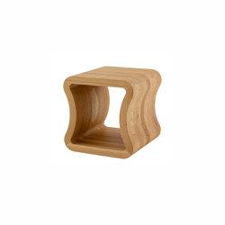 One Shape | Tavolino Laterale Per Divano Rovere Tinto Naturale | Tavolini alti | Ligne Roset