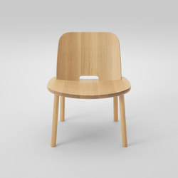 Fugu Lounge chair (armless) | Armchairs | MARUNI