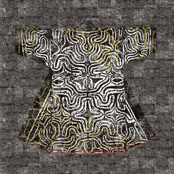 Domino | Kimono RM 257 01 | Quadri / Murales | Elitis