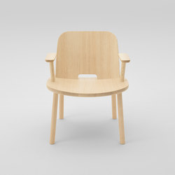 Fugu Lounge chair (with armrests) | Armchairs | MARUNI