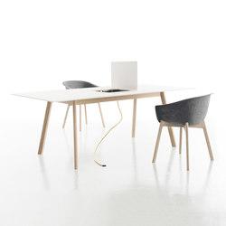 Pad Tisch mit Ausschnitt | Desks | conmoto