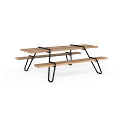 Clip-board 220, picnic | Tavoli e panche | Lonc