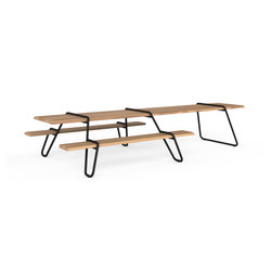 Clip-board 385, picnic extended | Tables and benches | Lonc