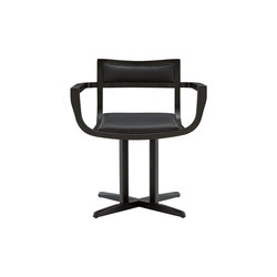 Psi | Carver Chair Black Stained Ash | Chairs | Ligne Roset