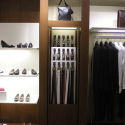 Bespoke Display Unit For Clothes Shop | Coat racks | YDF