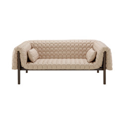 Ruché | Medium Settee Low Back With 2 Lumbar Cushions | Sofas | Ligne Roset