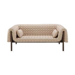 Ruché | Gran Sofa 2 Plazas Respaldo Bajo Con 2 Riñoneras | Sofás | Ligne Roset