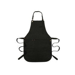 Grill Accessoires | BBQ Apron Leather Black | Accessories | Röshults