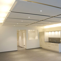 FIBER CEILING | Sound absorbing ceiling systems | acousticpearls
