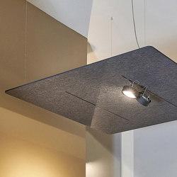 FIBER CEILING | Paneles de techo fonoabsorbentes | acousticpearls