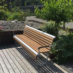 Landi Inclusion bench | Benches | BURRI